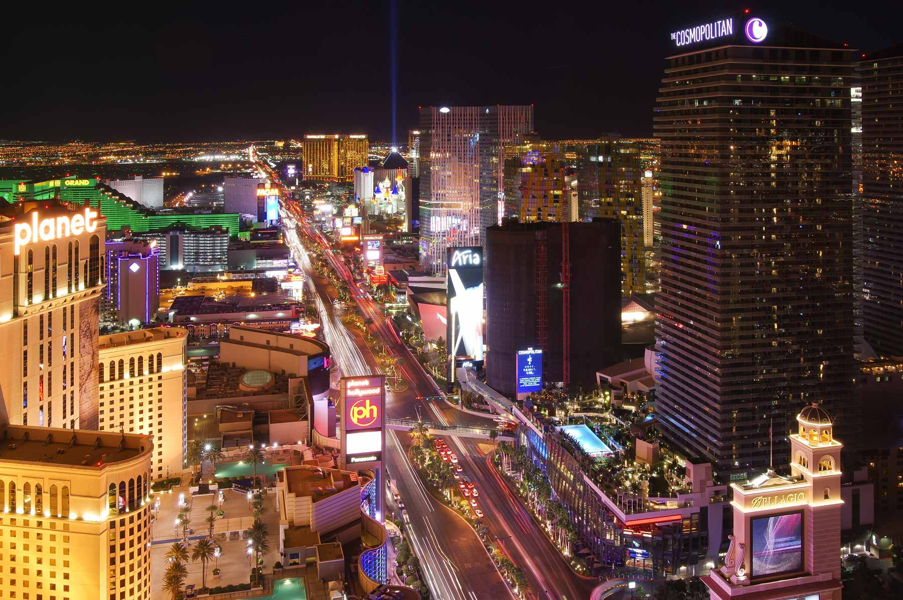 Find Shaw-Lundquist Projects on the Vegas Strip